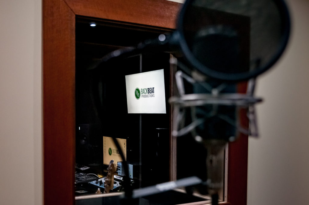 Back Beat Productions voice over recording services