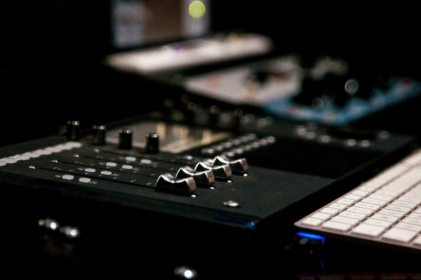 Back Beat Productions Studio AVID Control Surface
